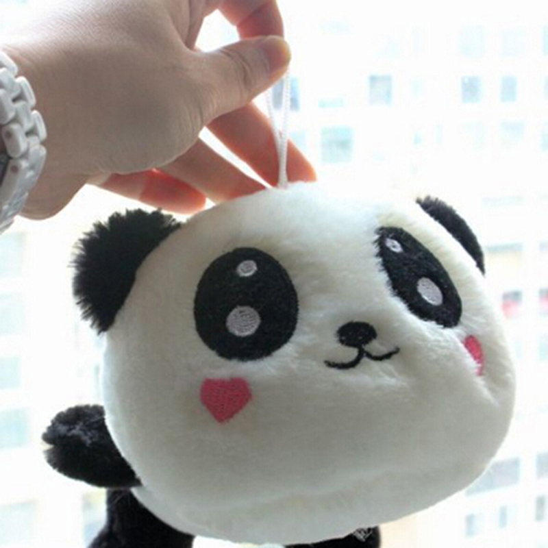 Super Kawaii Fluffy Panda Plush Toy Bag Kids Gift Key Chain Plush Toy Toys 20cm/7.87inches Tall Durable In Use Toys & Hobbies Dolls & Stuffed Toys