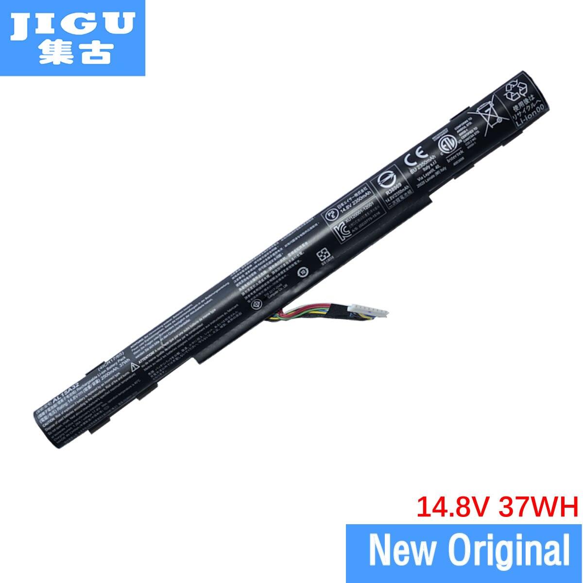 JIGU AL15A32 Batterie D'ordinateur Portable D'origine Pour ACER Aspire V3-574G E5-473G E5-573G F5-572G 14.8 v 37WH