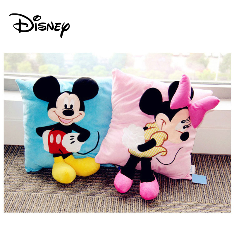 Baby Bedding Conscientious Disney 1pcs 38x34cm 3d Disney Cartoon Minnie Mickey 45cmx45cm Pillow Cases Cover Filling Birthday Gift Washable Pillowcas