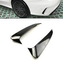 Rear Bumper Side Air Vent Stickers Fender Carbon Fiber Print For Mercedes Benz C Class W205 Sedan Sport 4 Doors цены онлайн
