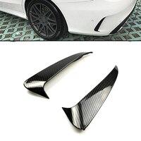 Rear Bumper Side Air Vent Stickers Fender Carbon Fiber Print For Mercedes Benz C Class W205 Sedan Sport 4 Doors