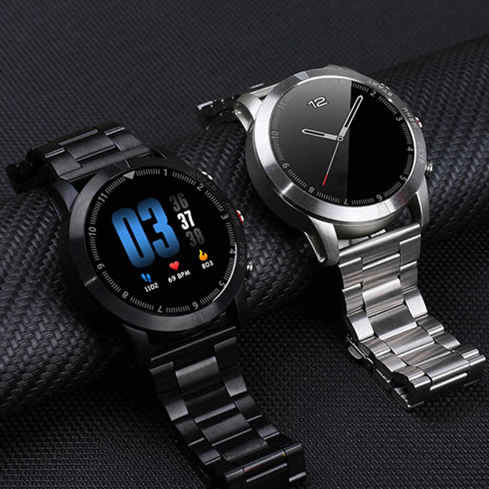 ビジネススマート腕時計男性の心拍数モニタースポーツ Bluetooth 防水フィットネススマートウォッチ android Ios xiaomi huawei iphone