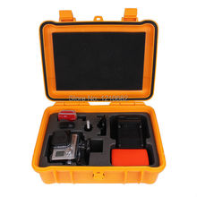 Middle size collection box safety equipment Waterproof case for xiaomi yi Bags GoPro Hero 5 4 3+ 3 2 sj5000 sj4000 Accessories