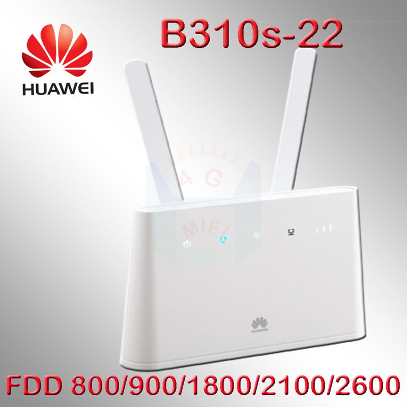 HUAWEI 4g mifi router 150mbps b310 B310S-22 unlocked 4G LTE CPE WIFI car ROUTER pk b593 b880 b890 e5172 b315 b681 b790 b683 цена 2017