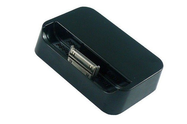 Black and white Dock Cradle Charger kit for Apple IPHONE 4 4s