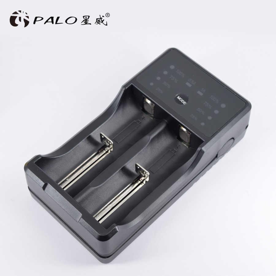 PALO AA зарядное устройство 18650 22650 зарядное устройство AA зарядное устройство для AA AAA 2A 3A 18650 26650 с светодиодный дисплей
