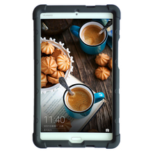 Купить с кэшбэком MingShore For Huawei M3 Tablet PC Silicone Cover Case 8.4-inch Silicone Cover Case For Huawei M3 BTV-W09 / DL09 Flat Case