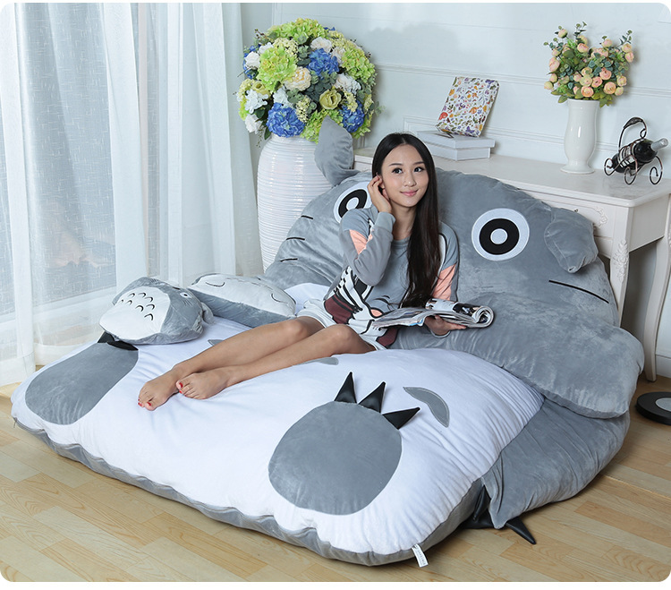 Totoro Design Big Sofa Lazy Bed Beanbag Chair Ordinary Style In Living Room Sofas From Furniture On Aliexpress