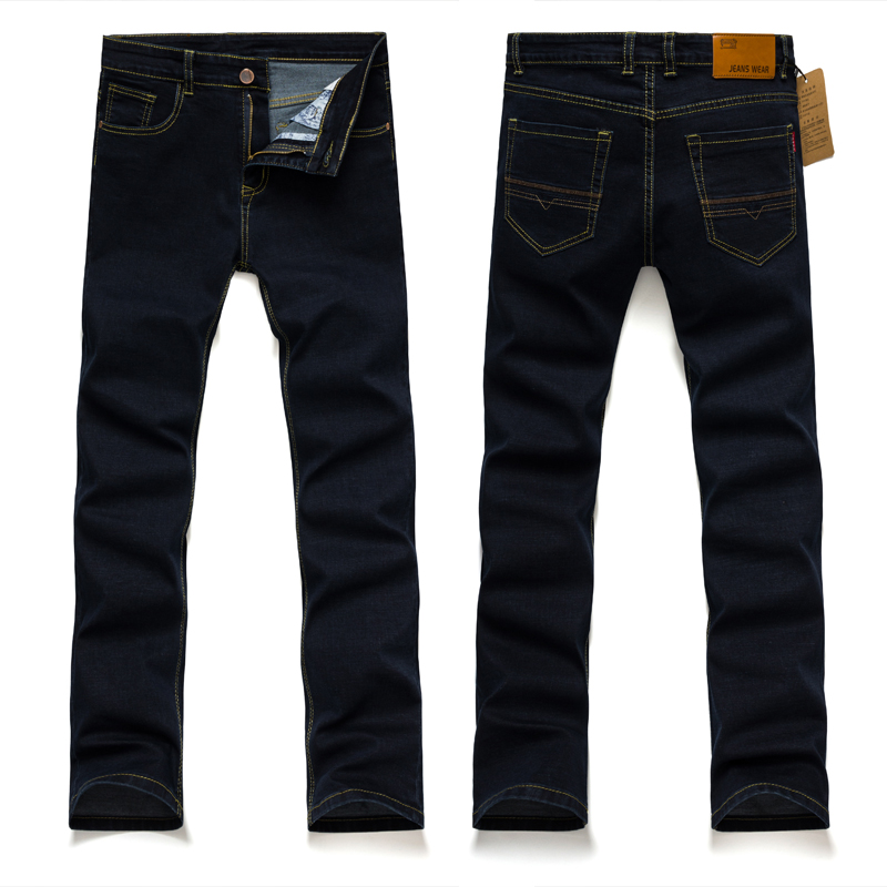 TG6152 Cheap wholesale 2017 new Business straight jeans men pants junior high elastic men's trousers are men's clothing free shipping factory direct sales good quality new spring summer 2016 korean version brand men straight jeans cheap wholesale