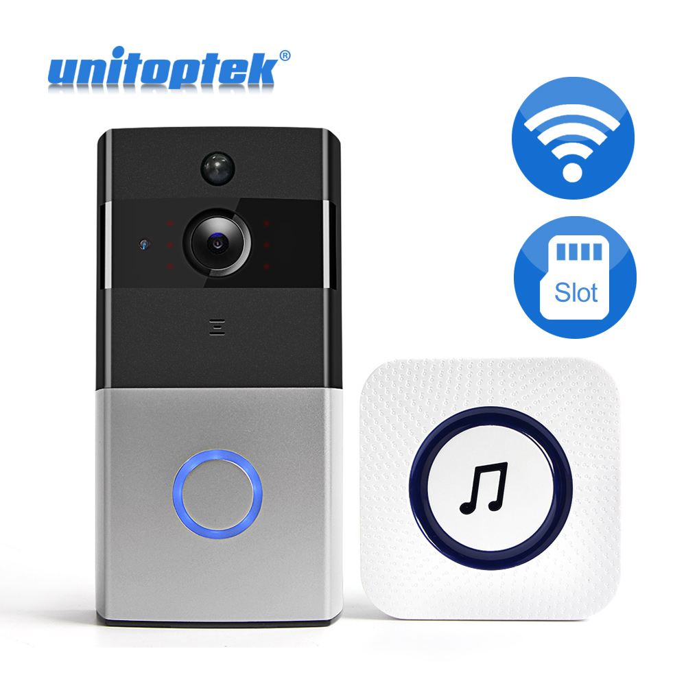 WI-FI Video Door Phone Two Way Audio IR Alarm WIFI Doorbell Camera IP Video Intercom For Apartments Wireless Security CameraWI-FI Video Door Phone Two Way Audio IR Alarm WIFI Doorbell Camera IP Video Intercom For Apartments Wireless Security Camera