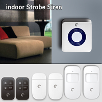 eTiger S6A Wireless Indoor Alarm Siren Home Security Protection Localtion Alarm System
