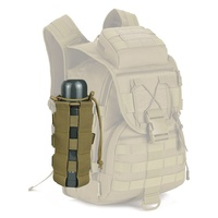 Outdoor Tactical Military Water Bottle Pouch Molle System Kettle Bag Camping Hiking Travel Survival Kits Holder