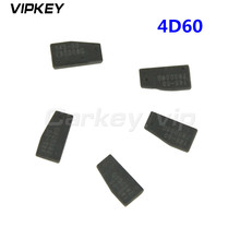 5 pcs Transponder Key remote key chip blank for Ford 4D60 chip transponder virgin carbon remtekey free shipping transponder key blank hu43 blade for tpx chip for opel 10piece lot