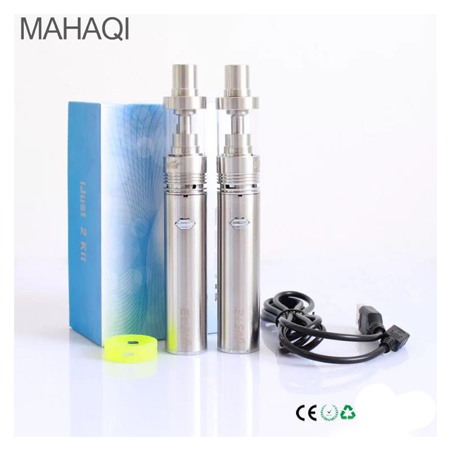 2017 NEW MAHAQI Ijust 2 Starter Kit High quality 5.5ml 0.3ohm 2600mAh Battery Capacity 30W 80W Just-2 Kit i Just 2 Kit
