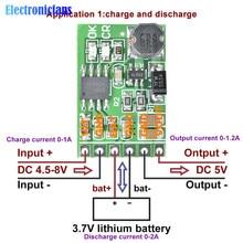 DC 5 в 3,7 в 5 В до 12 в DC 12 В 2в1 литиевая батарея зарядное устройство Dis плата DC-DC преобразователь Повышающий Модуль для IP PTZ камеры UPS