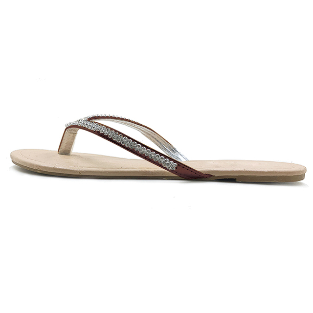 Neue 2020 Schuhe Frauen Schuhe Sommer Sandalen Perlen und Blumen Casual Schuhe Schnalle Strand Floral Sandalen Für Frauen Flip-Flops