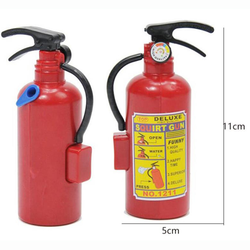 Water Toys Spray Fire Extinguisher Gun Firefighter Creative Outdoor Beach Summer For Kids Play Gifts Day Vieruodis 8~13