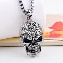 Hip hop Skull Pendant Necklace