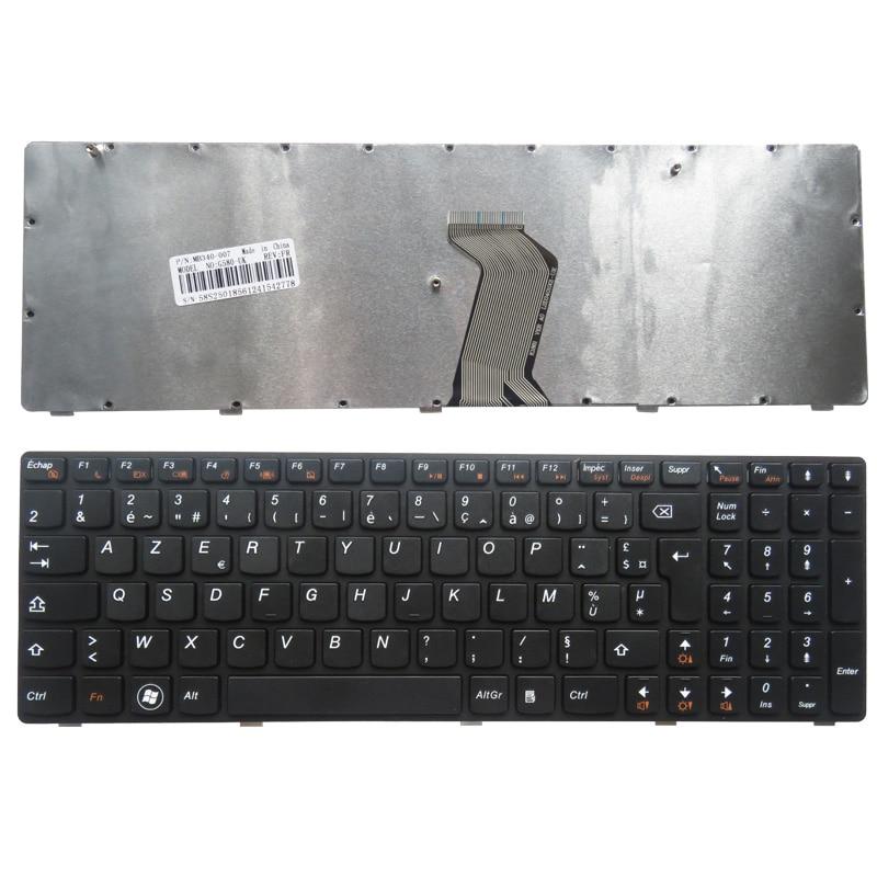Teclado francés para laptop para teclado Lenovo G580 Z580 Z580A G585 - Accesorios para laptop
