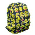 Fashion Lovely Printing 3D Emoji Backpack Smiling Face Casual Daypacks School Book Bags Backpack cheap Travel Bag School Bag