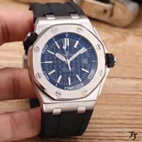 Luxury Brand New Men Stainless Steel Automatic Mechanical Watch Diver Sapphire Sport Watches Silver Black Rubber White Grey AAA+