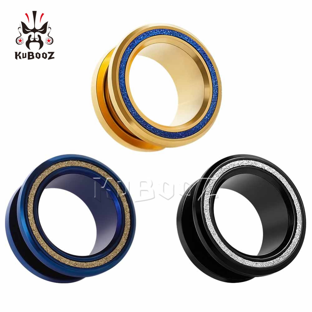 ear stretchers plugs and tunnels stainless steel