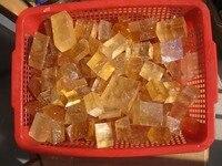 5000g Yellow Optical Calcite Crystal Iceland Spar transparent 11lb, Wholesales
