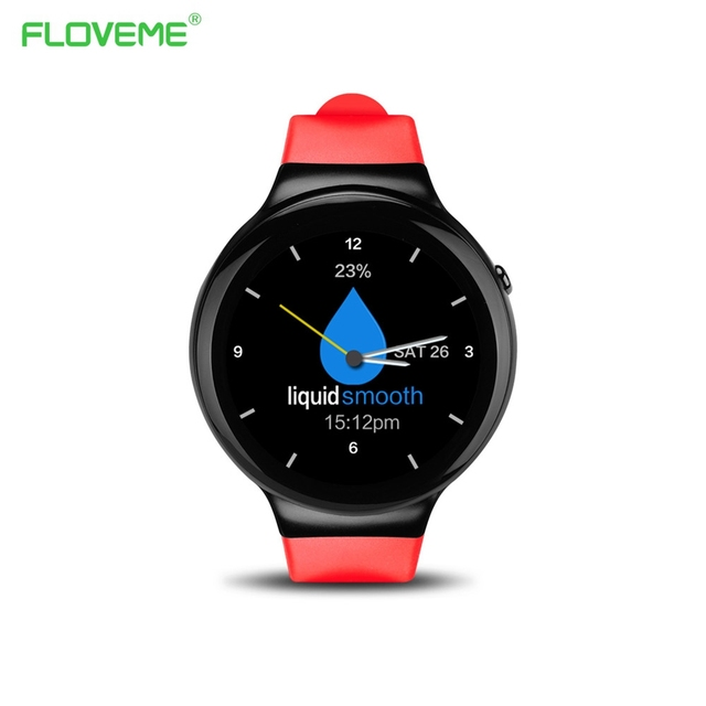 "FLOVEME I4 Android 5.1 Наручные Smart watch MTK6580 1.39 ""AMOLED Дисплей 3 Г 1 Г + 16 Г Bluetooth Wi-Fi Smartwatch Язык GPS Поиск"