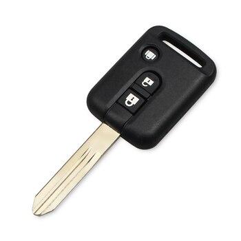 Chiave Telecomando per Nissan Micra 350Z Pathfinder Navara Auto Key Cover Case Fob 3 Button 1