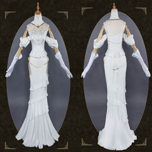 2019 Anime Overlord Cosplay Princess Albedo Costumes Halloween Stage New Fashion Gamer Costume Cos Dress Free Shipping