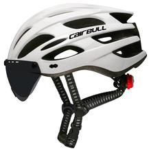 CAIRBULL Bicycle Helmet Rear LED Light Helmet With Lens Prot