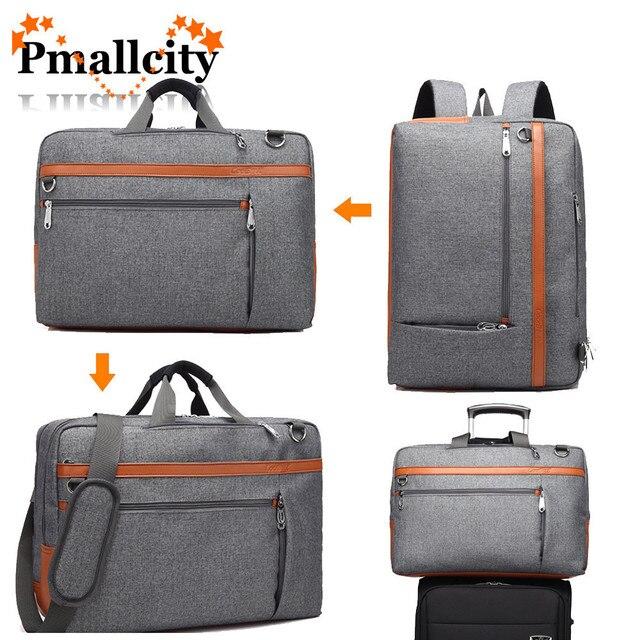 5d5c1fb453d37 CoolBELL 17 17.3 Cal plecak na laptopa cabrio plecak torba na ramię torba  na laptopa walizka