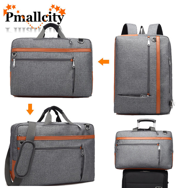 Coolbell 17 3 Inch Laptop Backpack Convertible Shoulder Bag Messenger Case Business Briefcase