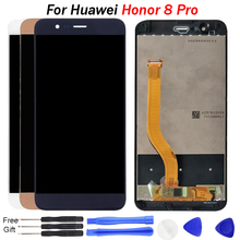 цена на For Huawei Honor 8 Pro LCD Display Touch Screen Digitizer For Honor 8 Pro Screen With Frame DUK L09 AL20 Display Replacement