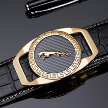 Brand Belt Men Top Quality Genuine Luxury Leather Belts for Strap Male Metal Automatic Buckle Williampolo 18400P