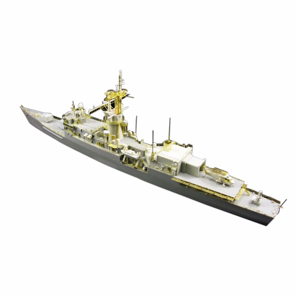 OHS Orange Hobby N03070628 1/350 USS Robert E Peary FF 1073 Assembly Scale Military Ship Model Building Kits стоимость