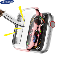 Lerxiuer Screen protective Case For Apple Watch band 42mm 44mm iwatch band 38mm 40mm Anti-fall case cover apple watch series 4 3 tanix tx3 mini smart android tv box 1gb 8gb android 7 1 s905w quad core cpu 2 4ghz wifi support 4k media player setp top box