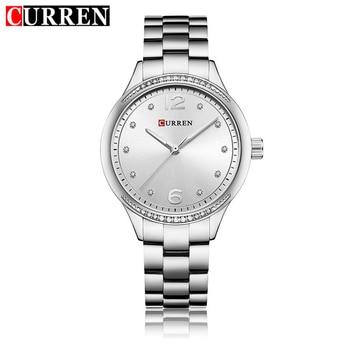 CURREN Luxury Women Watch Stainless Steel Gold Silver Fashion Bracelet Watches Ladies Women Wristwatches Relogio Femininos 9003
