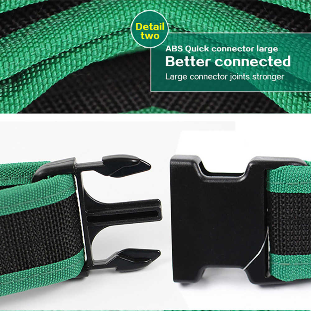 LAOA Electrician Tool Storage Bag Pouch Storage Foldable Tool Bag Pouch Square Storage Tool Bag with Waist Belt