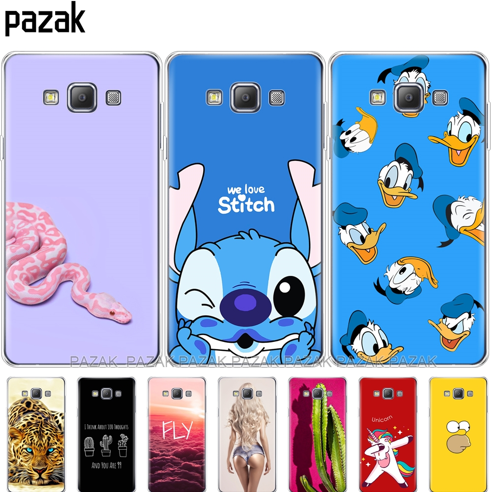 silicone case for Samsung Galaxy A5 2015 Phone Cases Soft TPU Cover for Samsung A5 A500H A500F 5.0 inch Phone shell transparent image