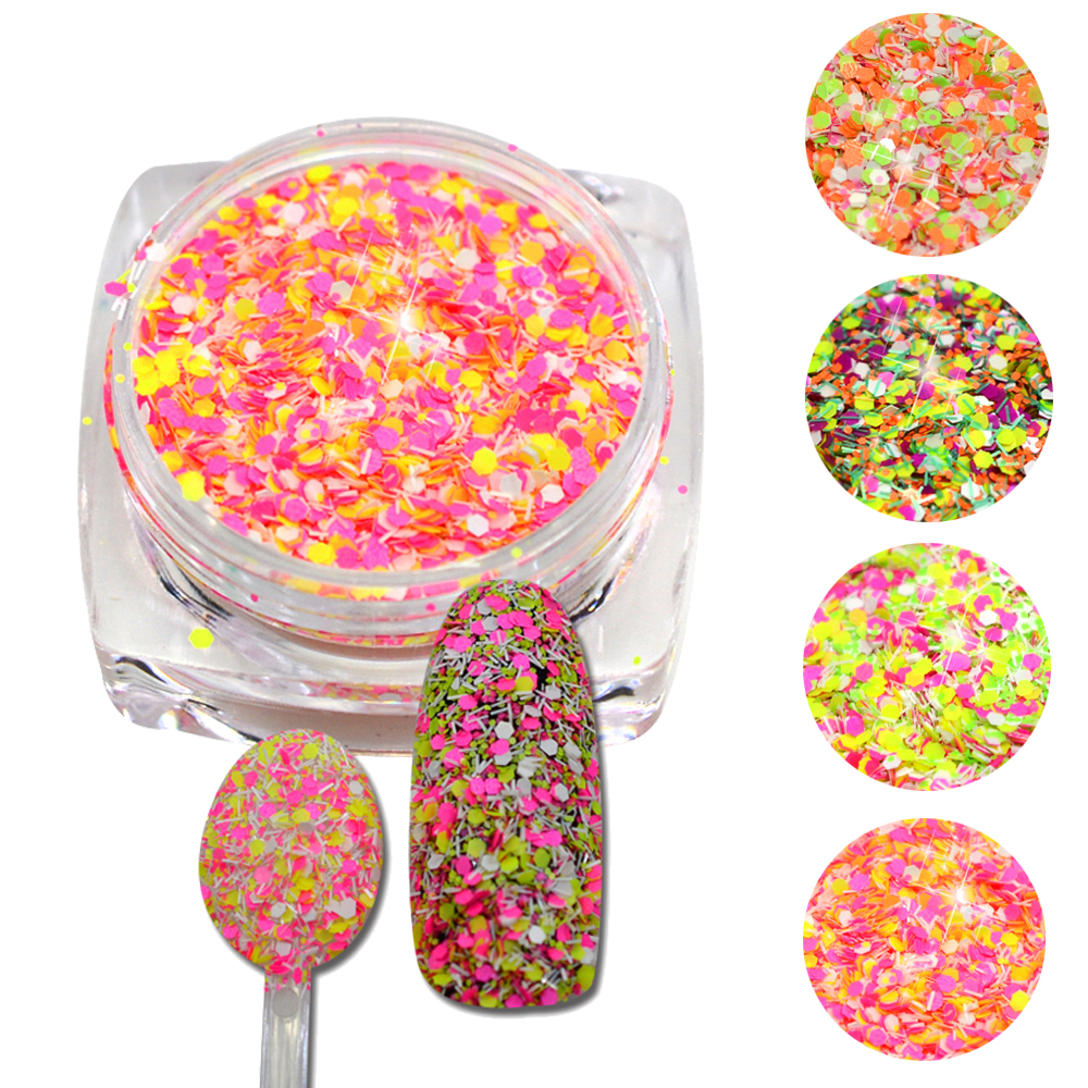 white kitchen canister sets ceramic promotion shop for promotional trendy nail 3g jar cheese glitter nails glitters dust nail art decorations dazzing powder 4 optional jisn09 12