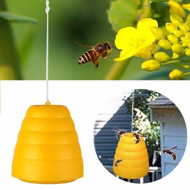 Пчеловодство яд репелленты подчеркнутой Би-Би ловушки висит Отпугиватель вредителей насекомых отклонить комаров Горшочек для меда подчеркнутой Летающий