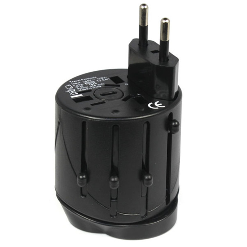 Hot selling All in One Universal International Travel AC Adapter for Power Charger Plug UK US