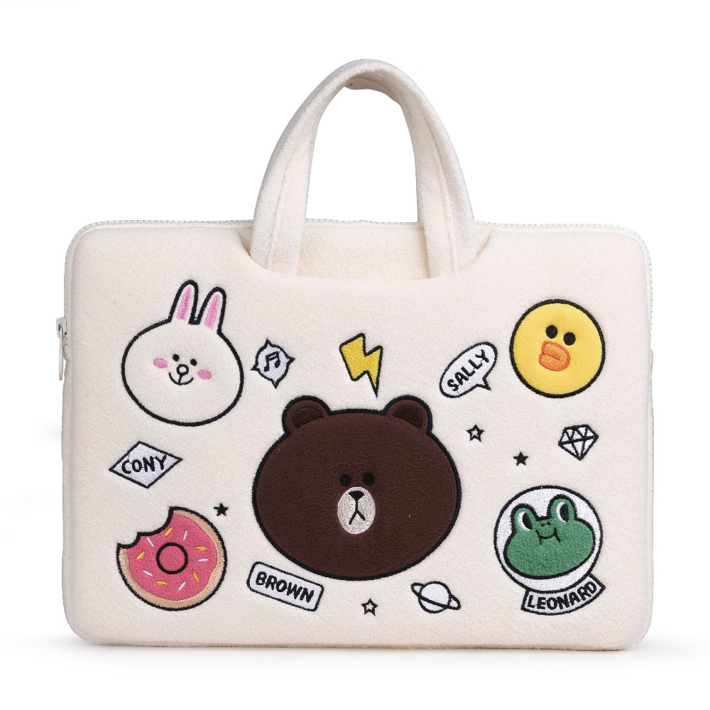 Cute Animal 15.6 14 13.3 12 inch Laptop Bag Notebook Sleeve Case for Laptop 11 , 12, 13 , 14, 15 Laptop Sleeve bag image