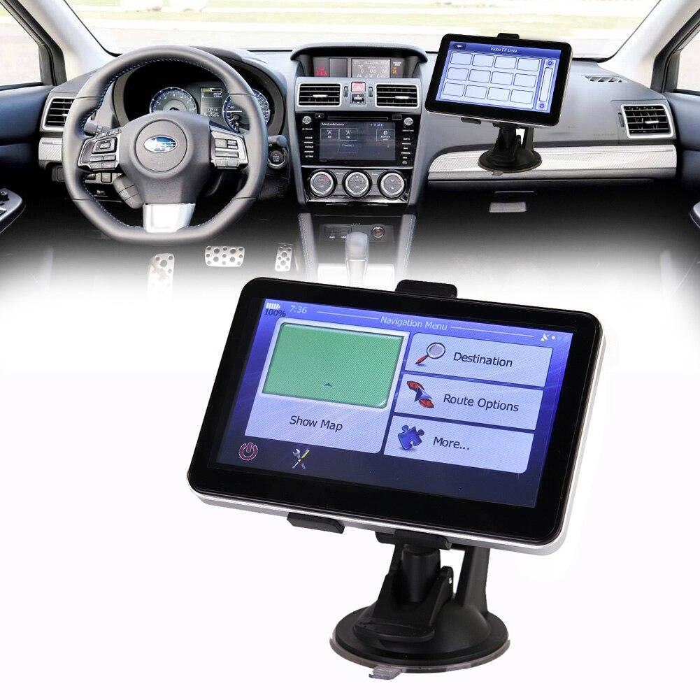 5 HD TFT Автомобильный GPS навигации W/Бесплатная Карты sat nav автомобиль-зарядное устройство Сенсорный экран музыки MP3 MP4 плеер fm-передатчик для а...
