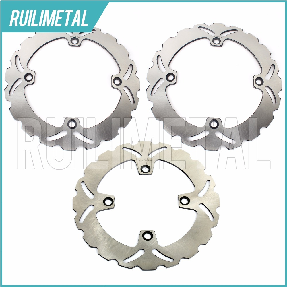 Front Rear Brake Discs Rotors For XLV TRANSALP 600 650 700 97 98 99 00 01 02 03 04 05 06 07 08 09 10 11 XLV TRANSALP ABS 700 94 95 96 97 98 99 00 01 02 03 04 05 06 new 300mm front 280mm rear brake discs disks rotor fit for kawasaki gtr 1000 zg1000