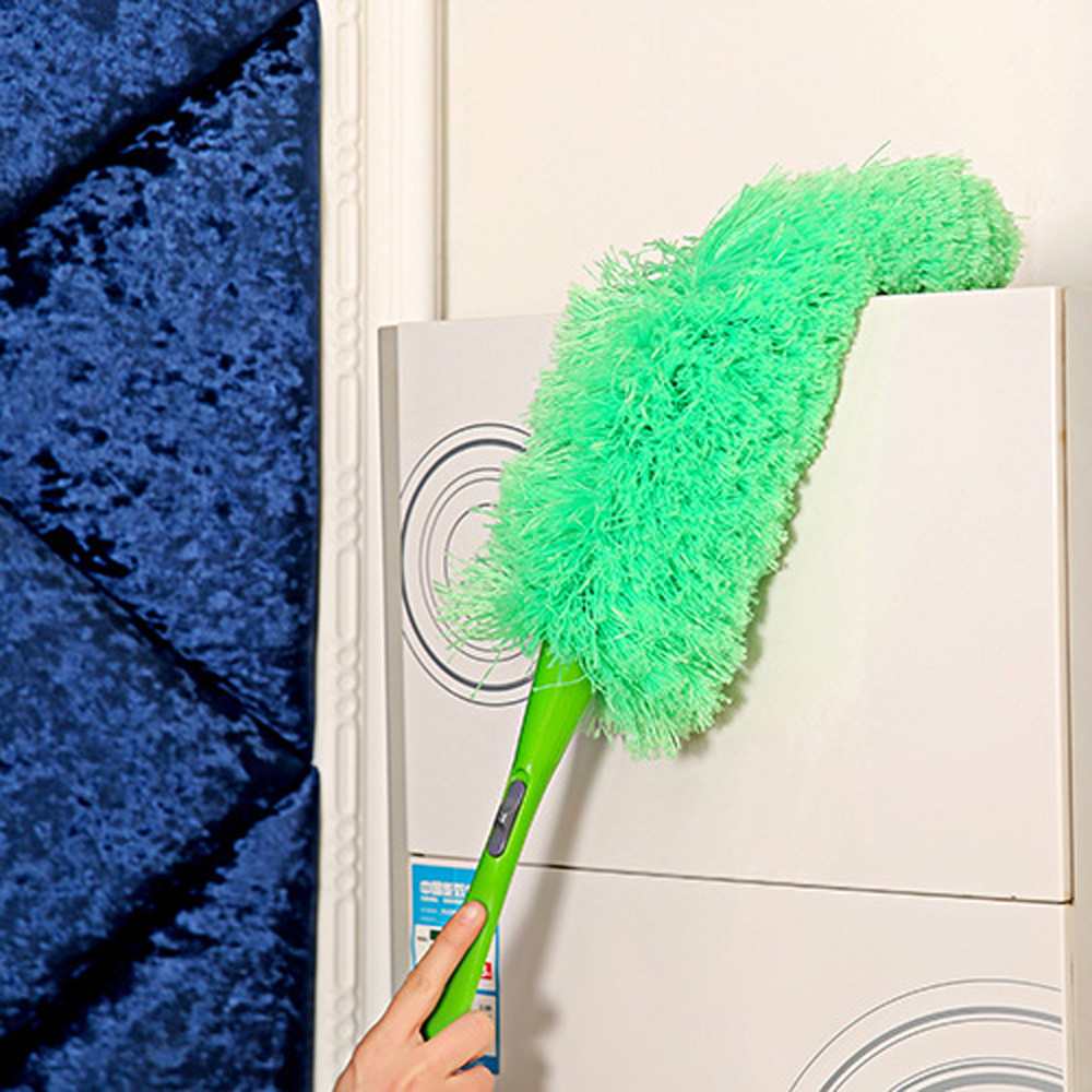 Magic Soft Microfiber Household Cleaning Tool Duster Dust Cleaner Handle Feather Static Anti Dropshiping D30 Jan26