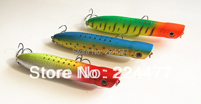 13cm/62g Suspend Type Popper Bait Fishing Lure Hard Plastic Baits Fishing Tackle Chinese Hook With box