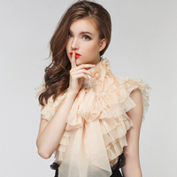 Plus Size XXL New Runway Summer Brand Sweet Vintage Girl Ladies Royal Court Princess Bow Chiffon