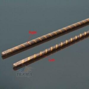 Image 4 - Левый/правый гибкий кабель 6,35 мм, опора из нержавеющей стали, вал привода для собаки, опора из латуни, пластиковая трубка, кронштейн для радиоуправляемой лодки